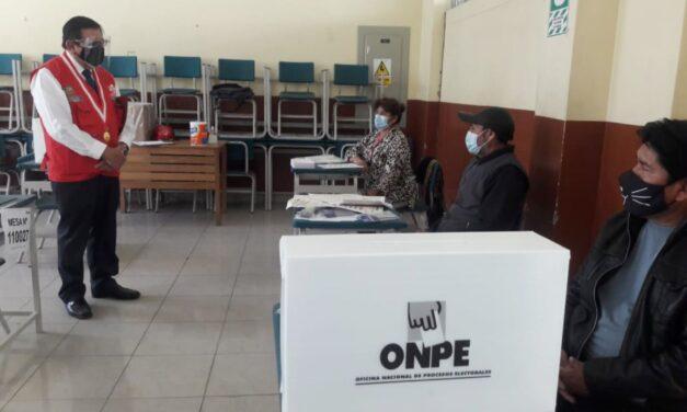 [Perú] ONPE: «Solo el 4.7 % de militantes votó en las elecciones internas del último domingo»