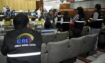 [Ecuador] CNE integrará comisión de expertos para vigilar sistema de transmisión de resultados