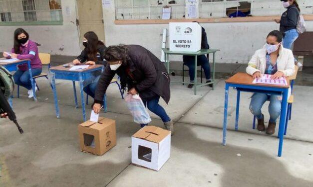 [Ecuador] Segundo simulacro del CNE puso a prueba protocolos de bioseguridad