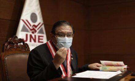 [Perú] JNE vería con dificultad la realización de elecciones si situación de la COVID-19 se vuelve «catastrófica»
