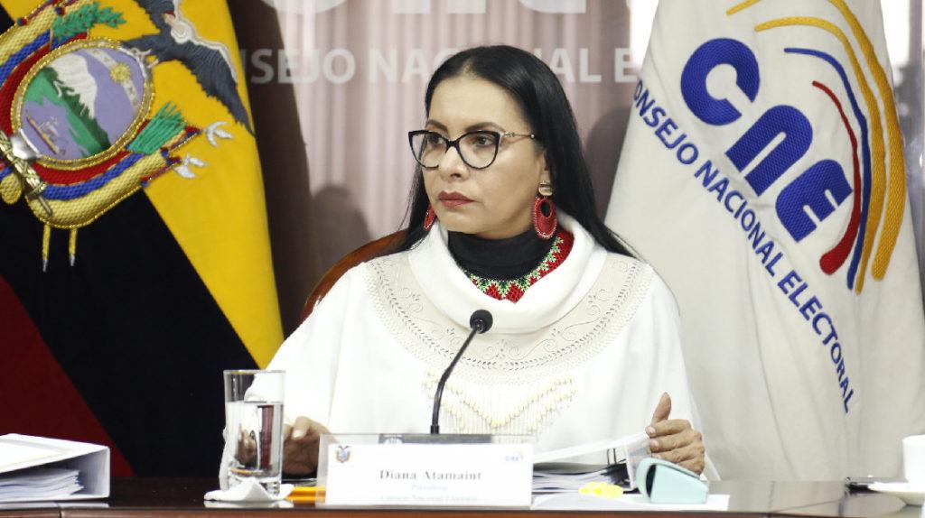 [Ecuador] El CNE asegura que no se puede detener la impresión de papeletas para elecciones