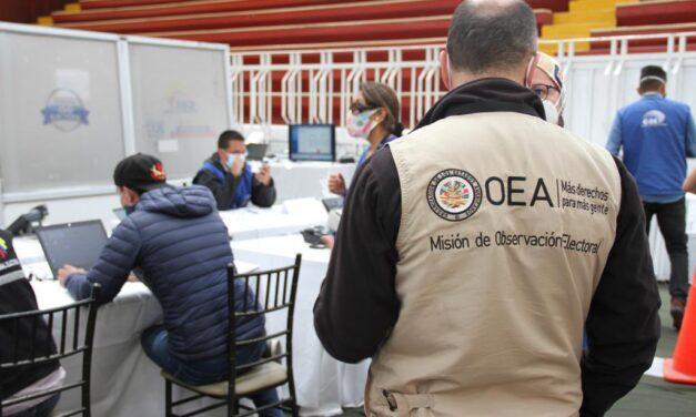 [Ecuador] Misiones internacionales de observación electoral dan seguimiento a la organización de las elecciones nacionales