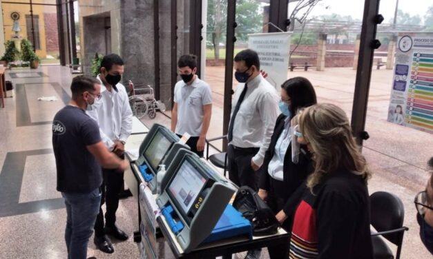 [Paraguay] Elecciones municipales: TSJE verifica y testea 3.000 máquinas de votación