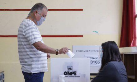 [Perú] ONPE recomienda votar de forma escalonada para evitar contagios de COVID-19