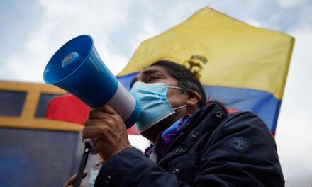 [Ecuador] Partidarios de Yaku Pérez marchan para exigir el recuento de votos