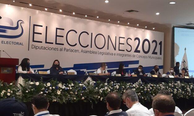 [El Salvador] TSE juramenta a integrantes de mesa en escrutinio final que oficializará resultados electorales