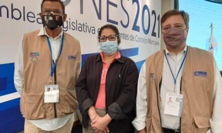 [El Salvador] La RedLad, CECADE y Transparencia Electoral desplegaron una misión de observación electoral conjunta