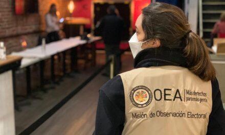 [Bolivia] TSE descarta pedido de vocal Atahuachi y ratifica a la OEA como veedora en la segunda vuelta