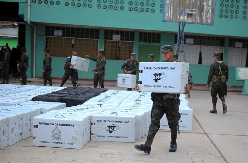 [Honduras] CNE: El lunes comienza la distribución de material electoral a centros de votación