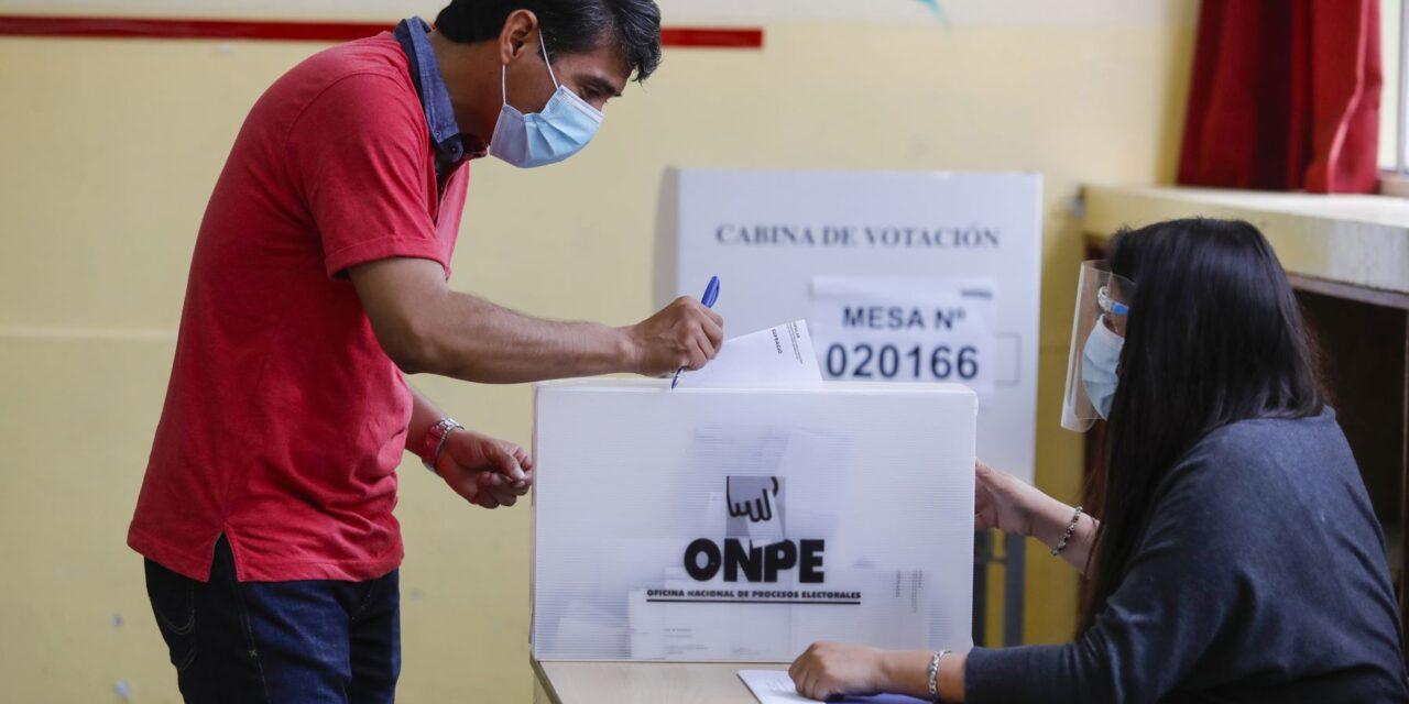 [Perú] ONPE indica que voto cruzado está permitido en sufragio del 11 de abril