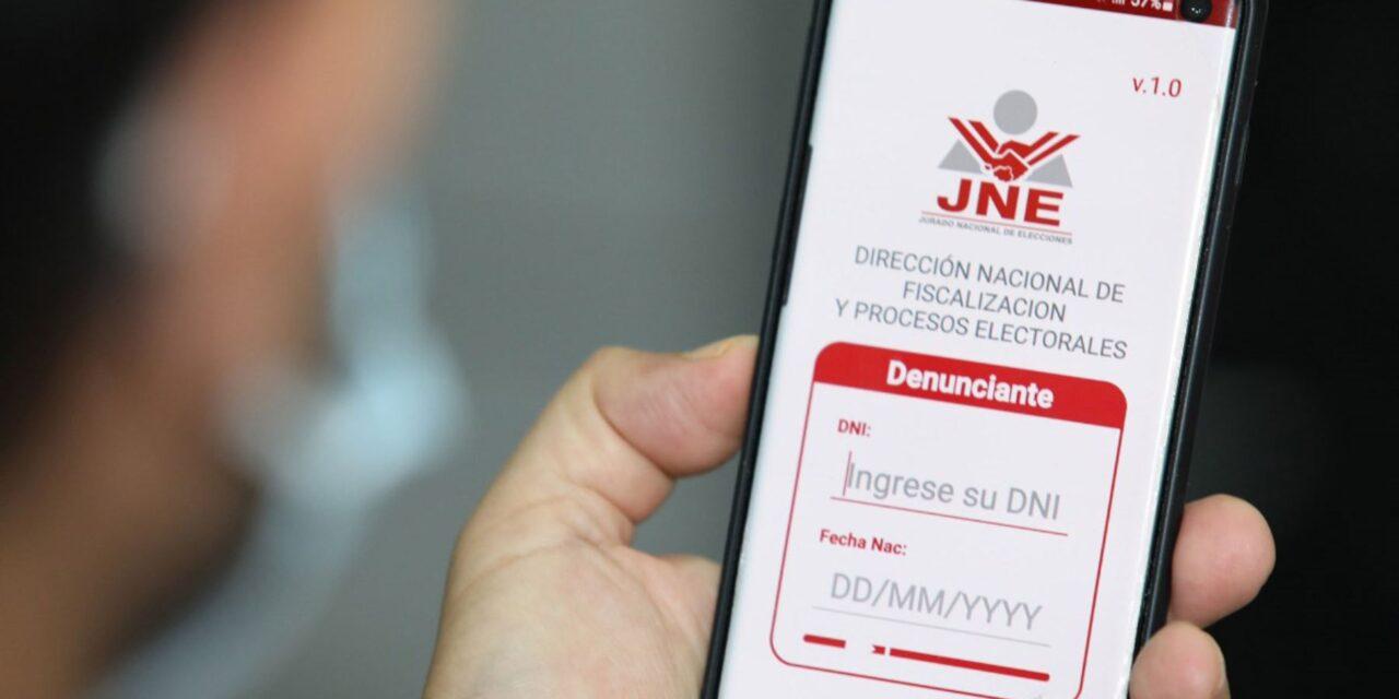 [Perú] JNE presenta aplicativo para denuncias de electores en el exterior