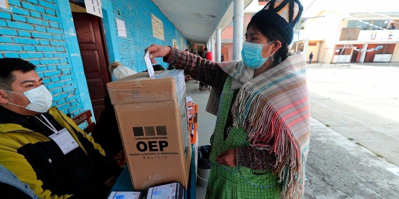 """[Bolivia] TSE reporta participación """"ligeramente menor"""" a la primera vuelta"""