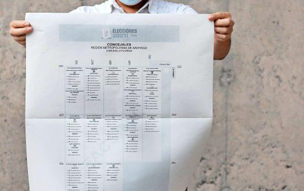 [Chile] «Sábanas» electorales: tres comunas del Bío Bío tendrán las papeletas más grandes de la votación