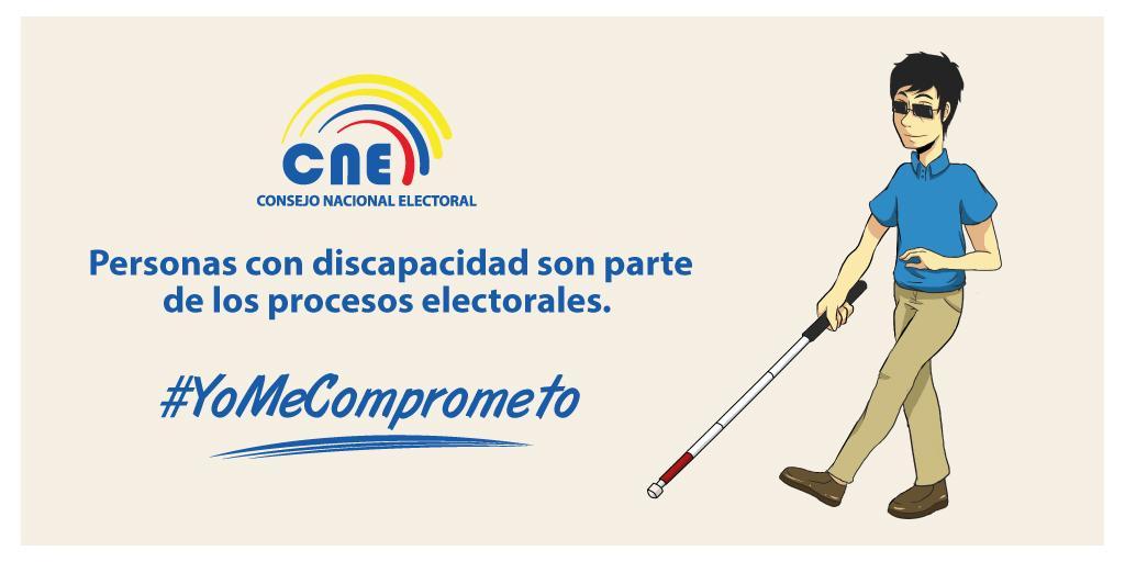 [Ecuador] CNE distribuyó 8.770 plantillas en braille para la segunda vuelta electoral