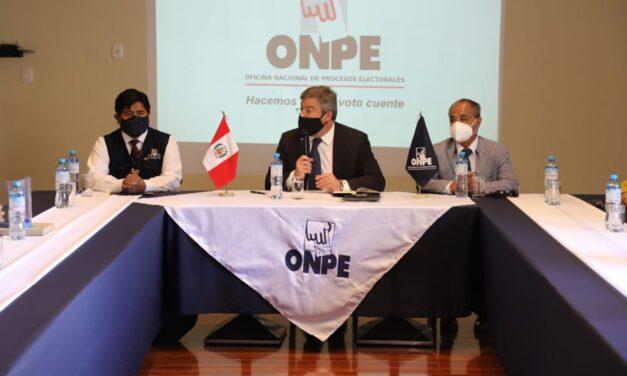 [Perú] ONPE revela los resultados electorales con el 99.951% de las actas escrutadas