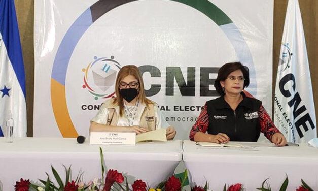 [Honduras] CNE señaló que tuvo «graves problemas» que históricamente afectan los procesos electorales
