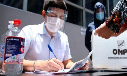 [Perú] ONPE dispuso protocolos de bioseguridad para la segunda vuelta