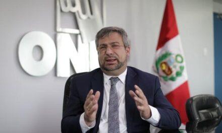 [Perú] Jefe de la ONPE pide ir a votar con orden, distanciamiento y doble mascarilla