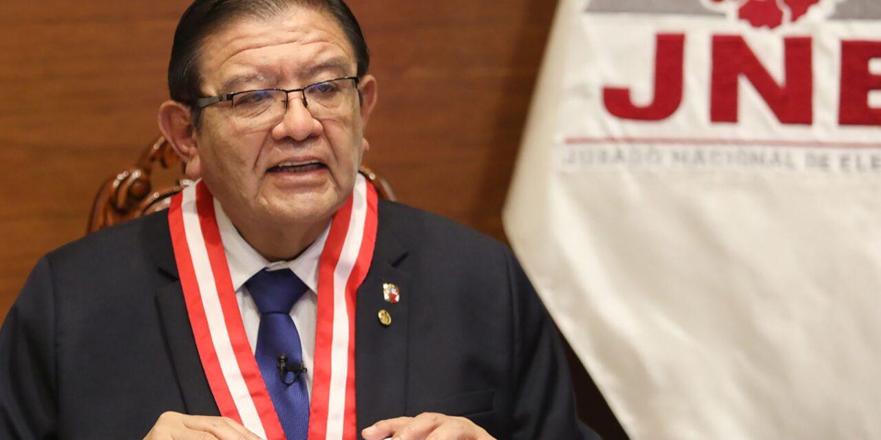 [Perú] JNE: Deliberaciones y votaciones sobre actas observadas apeladas serán públicas