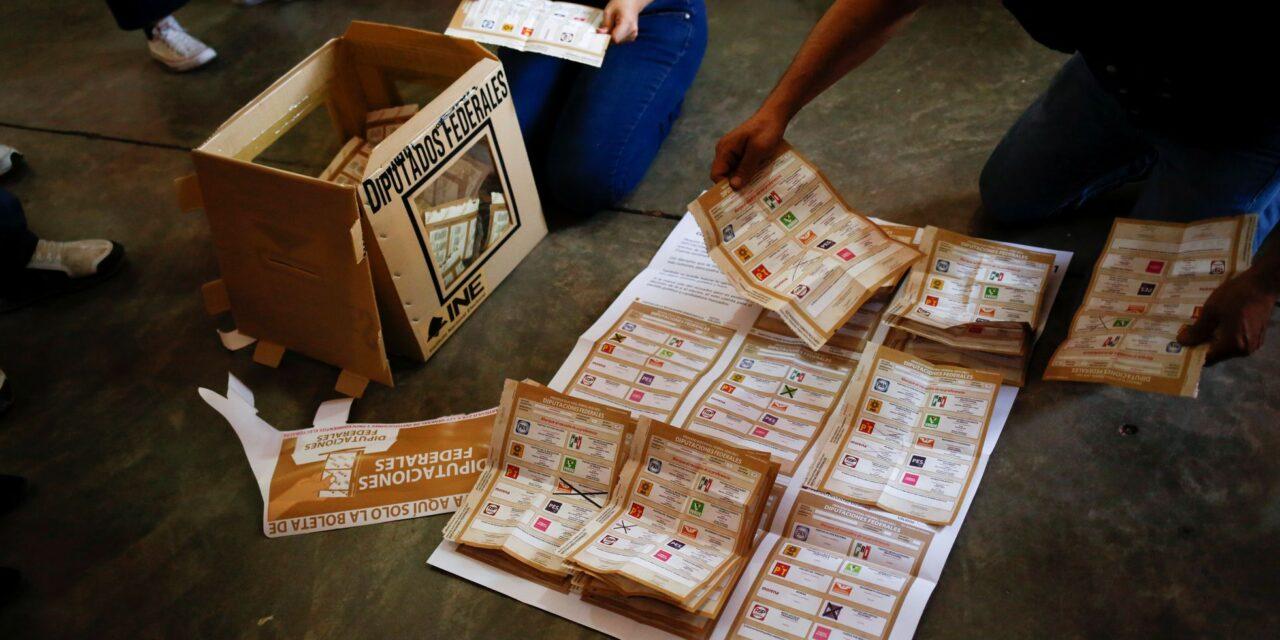 [México] INE contará voto por voto el 59.54% de las casillas de la elección de diputados federales