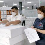 [Paraguay] TSJE distribuye 12.000 maletines electorales para internas partidarias