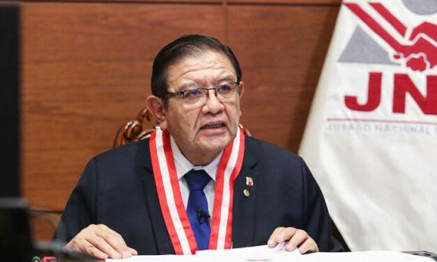 [Perú] Presidente del JNE pide que la polarización y las fake news «no sigan siendo parte de nuestra agenda diaria»