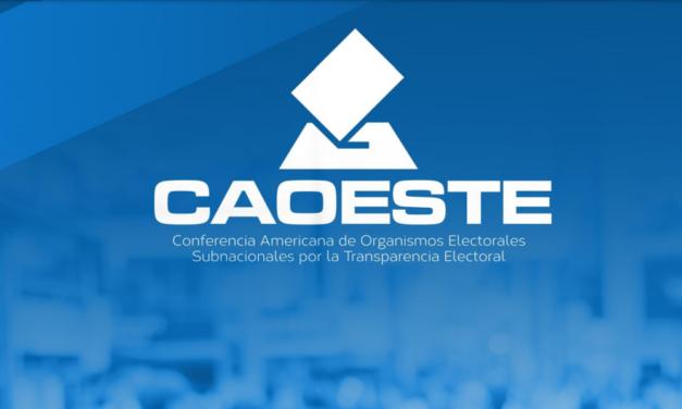 [Brasil] La CAOESTE presentará el Informe final de la MOE subnacional de Petrolândia celebrado el 13 de junio.