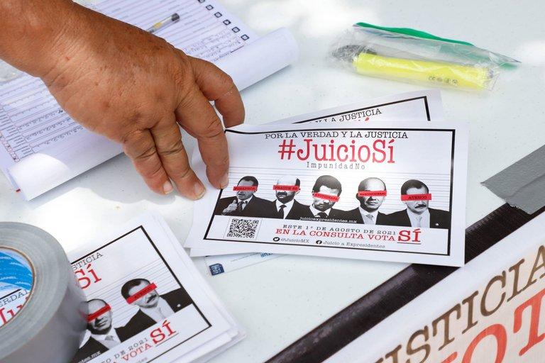 [México] Cómputo final del INE: 6.6 millones de mexicanos participaron en consulta popular