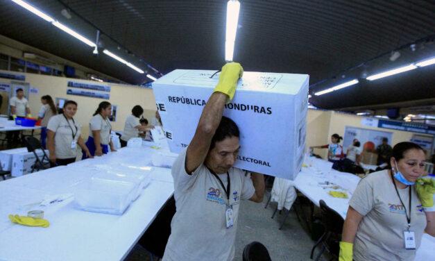 [Honduras] CNE recibe primer lote de cómputo para elecciones generales